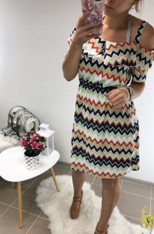 Mustriga kleit