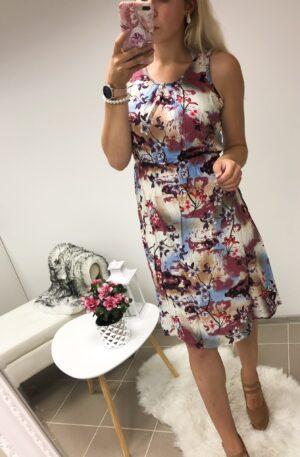 Suvine lillal põhjal kleit