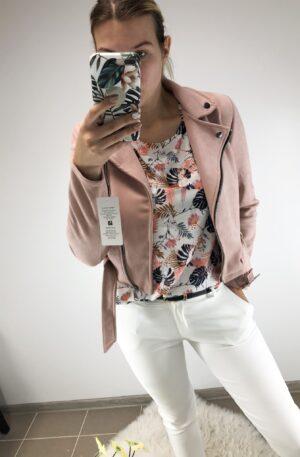 Vanaroosa seemisnahkne jakk