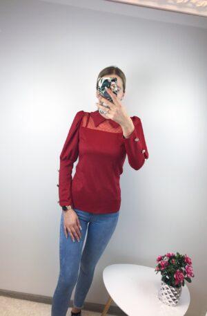 Punane pidulik pluus