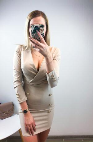 Beez nööpidega kleit