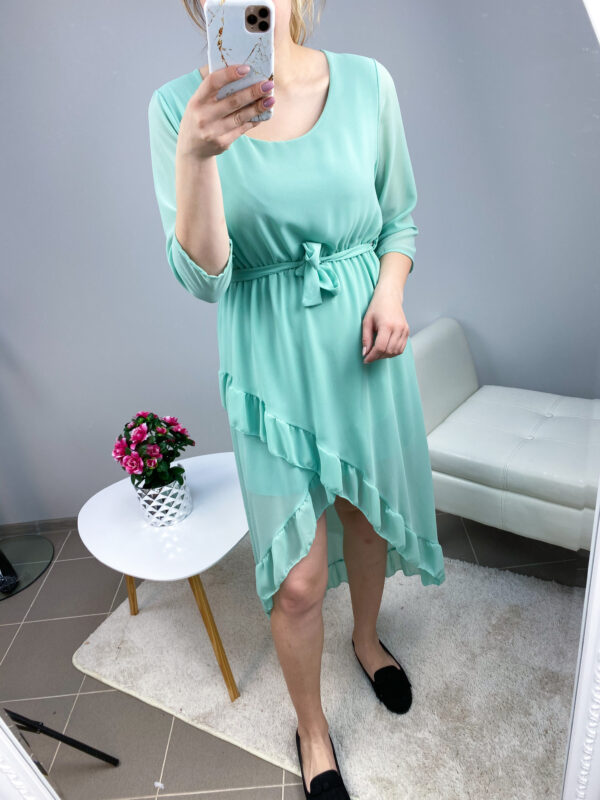 Mint high-low stiilis kleit