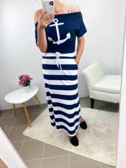 Meremehe stiilis kleit