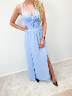Lõhikutega maxi kleit