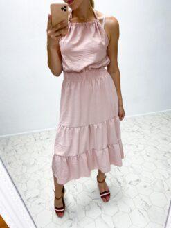 vanaroosa kleit