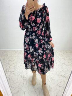 Must lilleline kleit